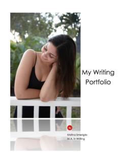 Kristina Smeriglio Writing Portfolio