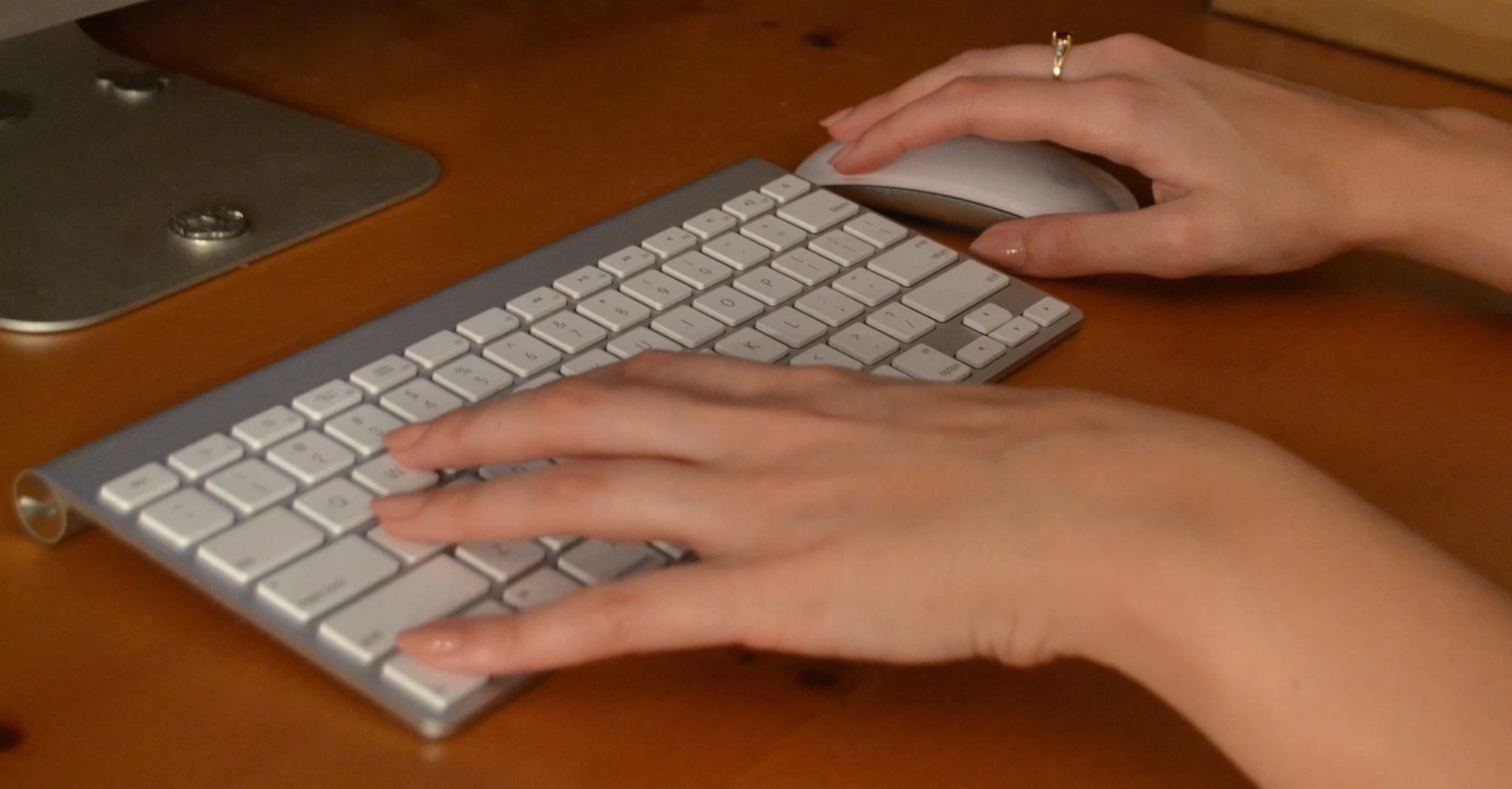 Kristina Smeriglio Typing