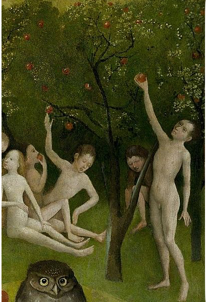 """The Cherry Tree within """"The Garden of Earthly Delights"""" for #MetaphorMonday"""