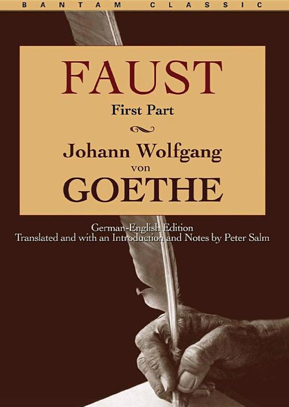 Faust Book Cover Bantam Classic